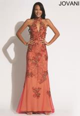 Jovani 89816.  Available in Aqua/Gold, Gold, Red/Gold