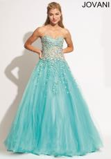 Jovani 88333.  Available in Aqua, Blush, White