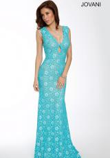 Jovani 23176.  Available in Turquoise/Pearl