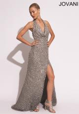Jovani 78184.  Available in Grey, Nude, White