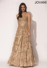 Jovani 5324.  Available in Gold