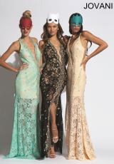 Jovani 92358.  Available in Black, Mint, Nude