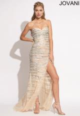 Jovani 77890.  Available in Nude
