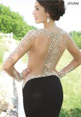 Jovani 99172.  Available in Black/Silver, Orange/Silver, Teal/Silver, White/Silver