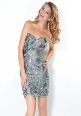 2012 Short Fitted Jovani Homecoming Dress 4710