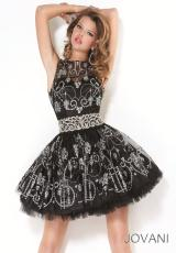 Sheer Top 2012 Jovani Homecoming Dres 5125