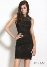 Jovani Cocktail 5604.  Available in Black