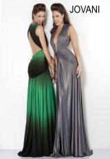 Jovani 6543.  Available in Grey