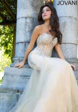 Jovani 5908.  Available in Black/Silver, Hot Pink/Silver, Nude/Silver, Red, Teal