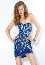 2012 Sexy Fitted Jovani Homecoming Dress 6123