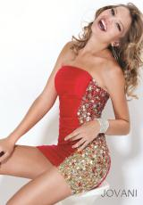 2012 Beaded Jersey Jovani Homecoming Dress 6573