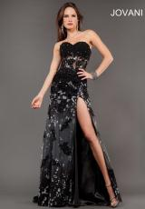 Jovani 6811.  Available in Black, Royal