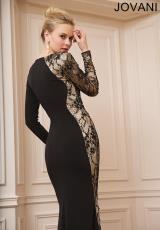 2014 Jovani Long Jersey Prom Dress 74120