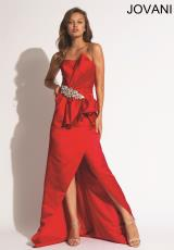 Jovani 93044.  Available in Navy, Red, Soft Blue