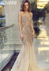 Jovani 78654.  Available in Nude