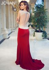 Jovani 90732.  Available in Black, Blush, Burgundy, White