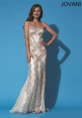Jovani 92388.  Available in Beige