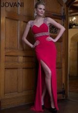 2014 Jovani Side Slit Prom Dress 93145