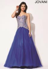 Jovani 92663.  Available in Royal, White