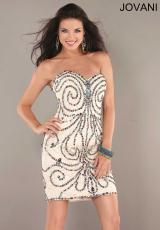 2013 Jovani Beaded Short Prom Dress 2221