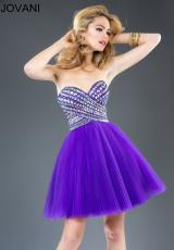 Jovani Cocktail 89631.  Available in Purple, White