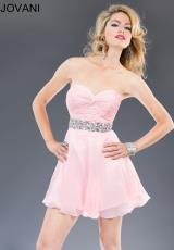 Jovani Cocktail 90088.  Available in Light Pink, Mint, White