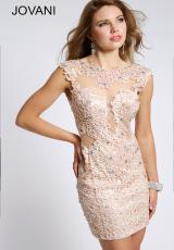 Jovani Cocktail 98005.  Available in Pink