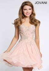 Jovani Cocktail 99114.  Available in Black, Blush