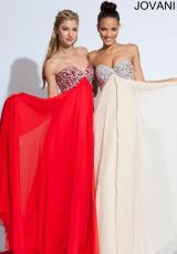 2014 Jovani Sweetheart Prom Dress 7017