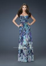 2013 Gorgeous Strapless La Femme Dress 18259
