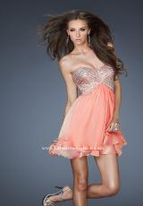 Sweetheart Neckline La Femme Homecoming Dress 18418
