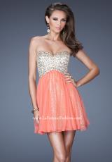 2014 La Femme Sequins Bodice Prom Dress 19452