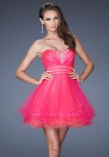 2014 La Femme Tulle Homecoming Dress 19461