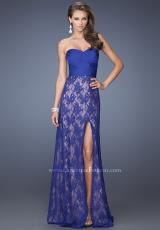 2014 La Femme Lace Skirt Prom Dress 19713
