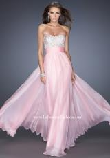 2014 La Femme Beaded Bodice Prom Dress 19726