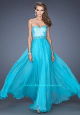 La Femme 19898.  Available in Aquamarine, Electric Blue, Nude