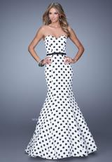 La Femme 21180.  Available in White/Black
