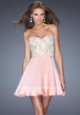 La Femme Short 20133.  Available in Cotton Candy Pink