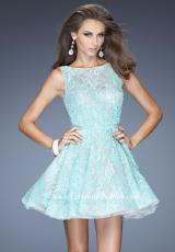 High Neckline 2014 La Femme Homecoming Dress 20244
