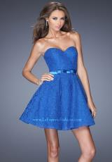 La Femme Short 20439.  Available in Royal Blue
