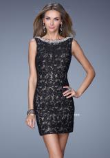La Femme Short Dress 20506