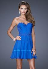 2014 La Femme Flowy Skirt Homecoming Dress 20573