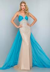 Landa Pageant G904.  Available in Nude/Red, Nude/Turquoise