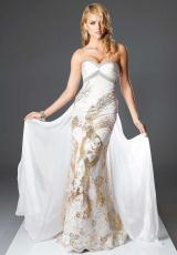 Landa Pageant US804.  Available in Gold/Gold, White/Gold