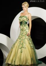 Strapless 2014 MNM Couture Prom Dress 5860