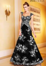 2014 MNM Couture Applique Prom Dress 6122