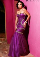 2014 MNM Couture Long Prom Dress 7246