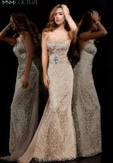 2014 MNM Couture Fitted Waist Prom Dress 7992