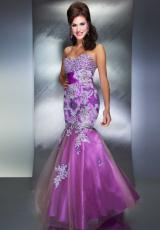 2013 MacDuggal Strapless Prom Gown 42669M