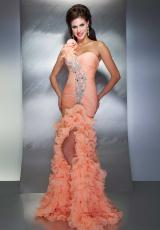 2013 MacDuggal One Strap Prom Dress 64358M